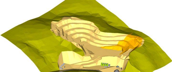 Моделювання гірничих об'єктів в програмі K-Mine
