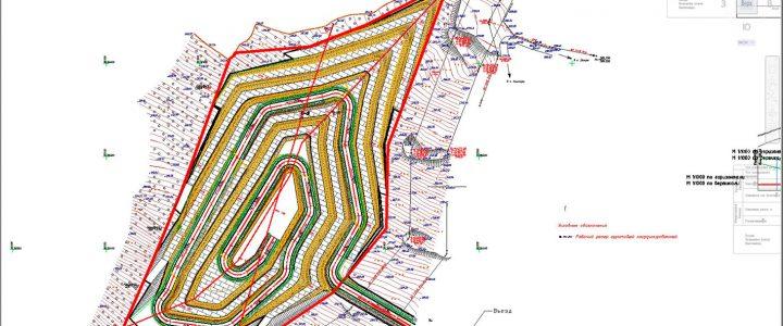 План кар'єру в програмі AutoCAD