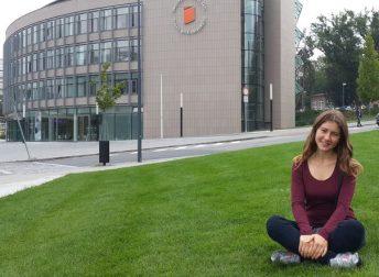 Студентка 4 курсу на стажуванні у Чехії