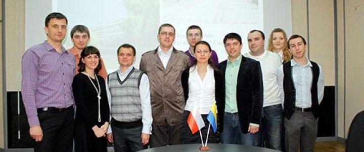 Відвідування польською делегацією гірничо-екологічного факультету