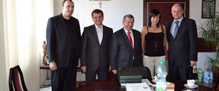 Співробітництво з Краківською гірничою академією