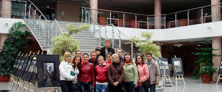 Зі студентами у бібліотеці Люблінської політехніки